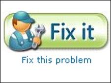 Download Microsoft Fix it Tool for Windows PC