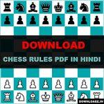 Chess Rules PDF in Hindi